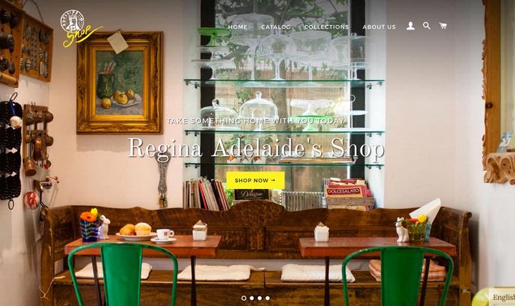 Storie Regina Adelaide S Shop On Line Hotel Regina Adelaide Garda